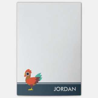 Chester the Rooster Post-it Notes