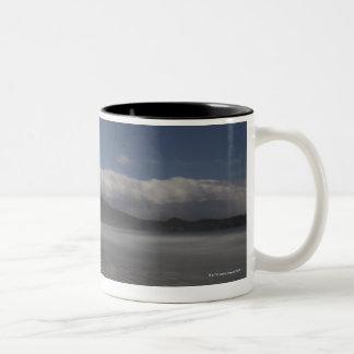 Chesterman Beach, Tofino, Vancouver Island, Two-Tone Coffee Mug