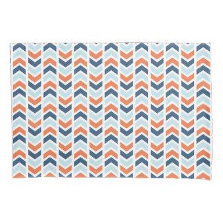 Chevron and Stripes Pillowcase