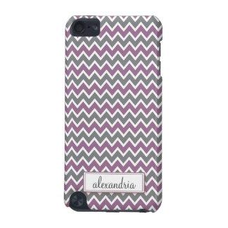 Chevron Pattern iPod Touch Case (lavender)