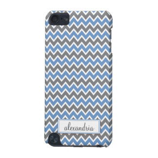 Chevron Pattern iPod Touch Case (periwinkle)