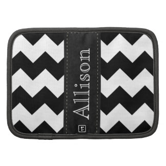 Chevron Patterned Folio Mini Organizer