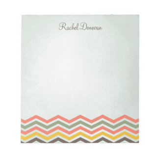 Chevron Personalised Notepad