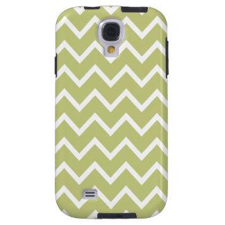 Chevron Samsung Galaxy S4 Case in Green