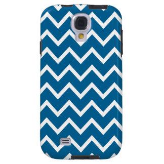 Chevron Samsung Galaxy S4 Case in Mykonos Blue