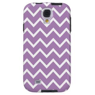 Chevron Samsung Galaxy S4 Case in Purple
