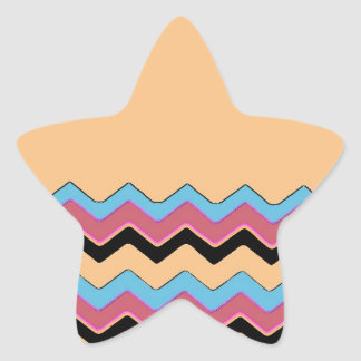 Chevrons Pattern Shower Party Office Peace Destiny Stickers