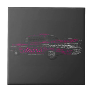 Chevy Bel Air Small Square Tile