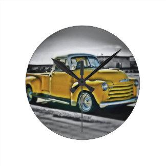 Chevy pick UP Round Clock