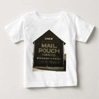 Chew Mail Pouch Tobacco - Antique Photo Finish Baby T-Shirt