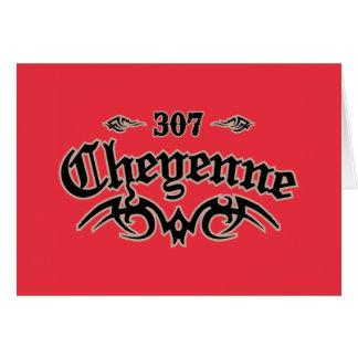 Cheyenne 307 card