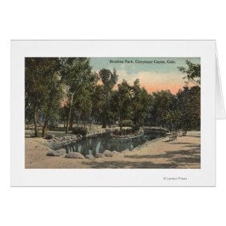 Cheyenne Canyon, Colorado - Stratton Park View Card