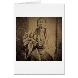 Cheyenne Indian Scout Nettie Bear Card