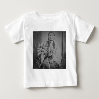 Cheyenne Indian Woman Vintage Stereoview Card Baby T-Shirt