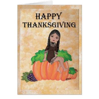"""""""Cheyenne"""" Thanksgiving Quantum Cutie Card"""
