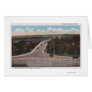 Cheyenne, WY - Viaduct & Main Outlet for Motor Card