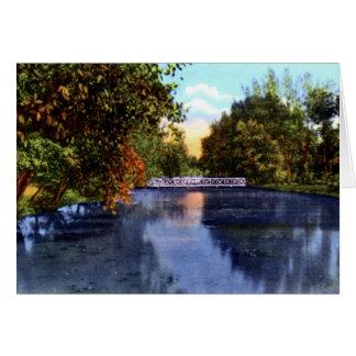 Cheyenne Wyoming Holliday Park Lake Minnehaha Card