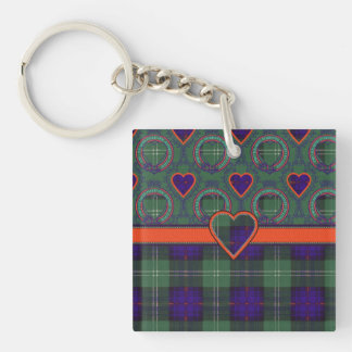 Cheyne clan Plaid Scottish kilt tartan Key Ring