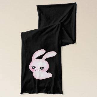 Chibi Anime Pink Easter Bunny Rabbit Scarf