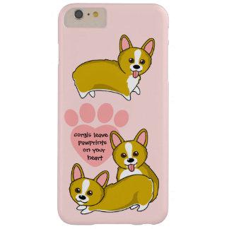 Chibi Corgi Love Barely There iPhone 6 Plus Case