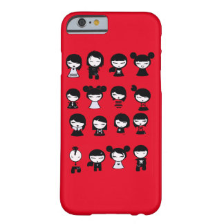 Chibi Emo Goth iphone6 Barely There iPhone 6 Case