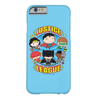 Chibi Justice League Group Barely There iPhone 6 Case