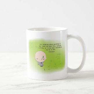 Chibi Monk - Zen Quote Mug