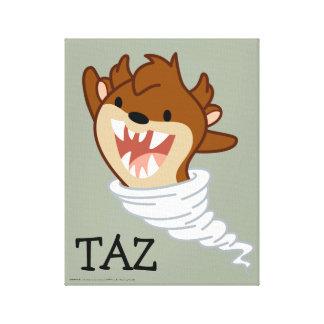 Chibi Tornado TAZ™ Canvas Print