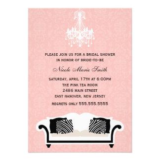 Chic Bridal Shower Personalised Invite
