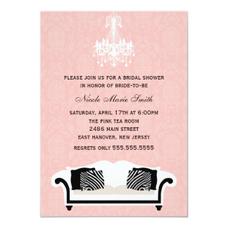 Chic Bridal Shower Personalized Announcement