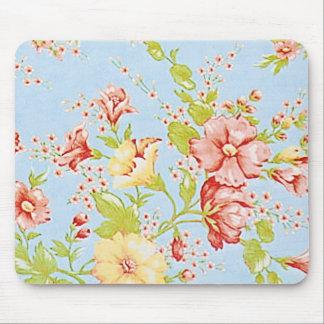 Chic Cottage Floral Mousepad