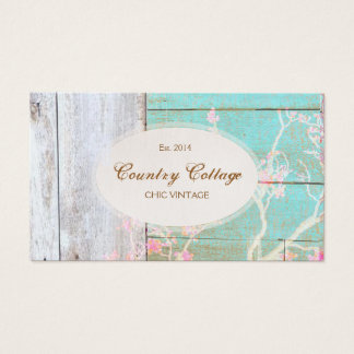 Chic Country Vintage Rustic Wood Boutique