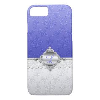 Chic Damask Monogram iPhone 7 Case