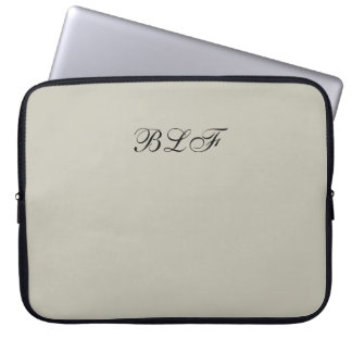 CHIC LAPTOP SLEEVE-SOLID 154 NATURAL LAPTOP SLEEVE