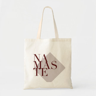 Chic Namaste Yoga Inspired | Grey Bag