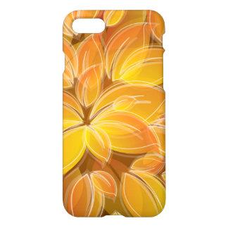 Chic orange Petals Pattern iPhone 8/7 Case