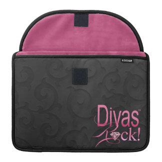 """CHICAGO BLING - """"Divas Rock!"""" Sleeve For MacBooks"""