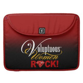 "CHICAGO BLING - ""Voluptuous Women Rock!"" Sleeve For MacBook Pro"
