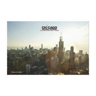 Chicago Design #1 Canvas Canvas Prints