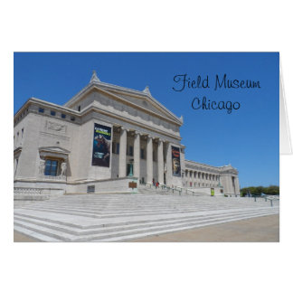 Chicago Field Museum Card