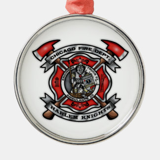Chicago Fire Department/Harlem Knights E86 T57 A20 Christmas Ornament