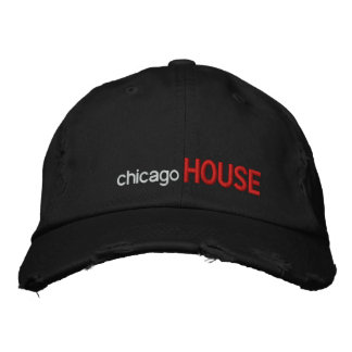 chicago, HOUSE Embroidered Hat