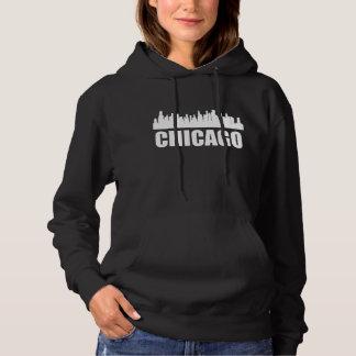 Chicago IL Skyline Hoodie