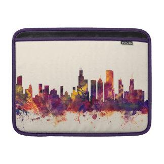 Chicago Illinois Skyline Sleeve For MacBook Air