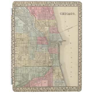 Chicago Map by Mitchell iPad Cover