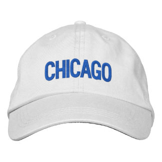 Chicago Personalized Adjustable Hat Embroidered Hats