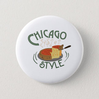 Chicago Sign 6 Cm Round Badge