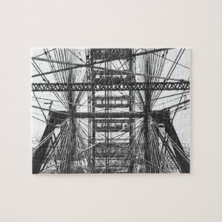 Chicago Vintage Ferris Wheel Puzzle