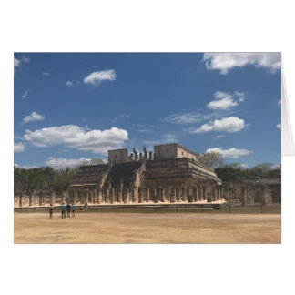 Chichen Itza Temple of the Warriors Card