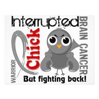Chick Interrupted 3 Brain Cancer 21.5 Cm X 28 Cm Flyer